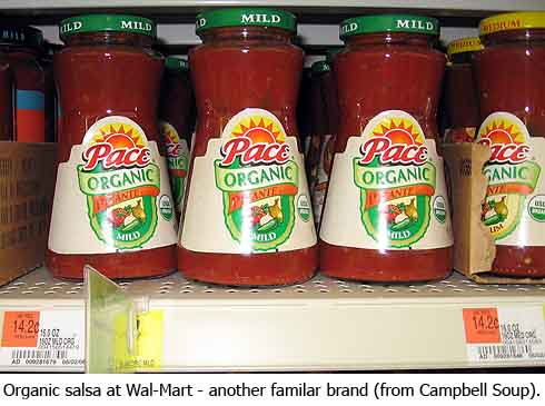 Pace Organic salsa – from Campbell Soups