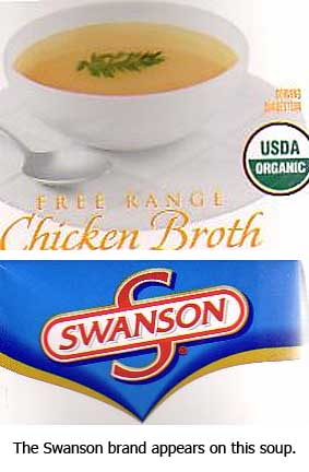 Swanson's chicken broth.