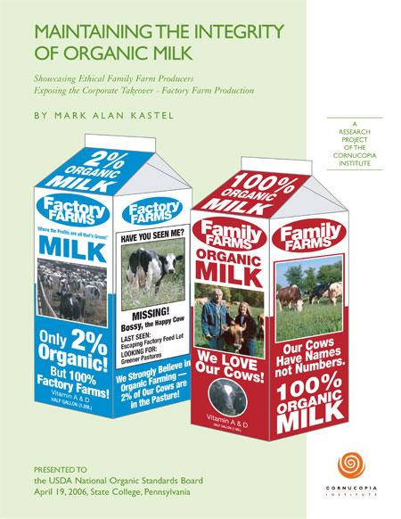 Dairy Report and Scorecard - Cornucopia Institute