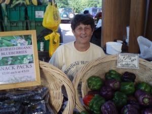 Wheatfield Hill Organics at market