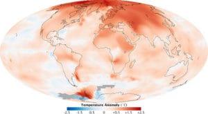 Temperature anomoly 2000-2009,  Image courtesy of Victor Korniyenko