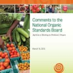 NOSB Meeting April 9-11 — Antibiotics in Organic Apples/Pears and Other Synthetics