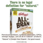 What are the Legal Differences between Organic and 'Natural' Labels?
