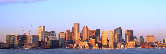 Boston_skyline_at_earlymorningby Y.Sawa