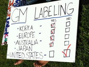 Gmo Labeling Protest