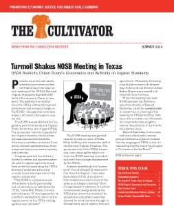 Summer 2014 Cultivator cover