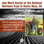 Mark Kastel at The National Heirloom Expo