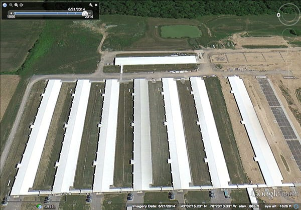 Kreher's Organic Facility: June 21, 2014 — no birds out