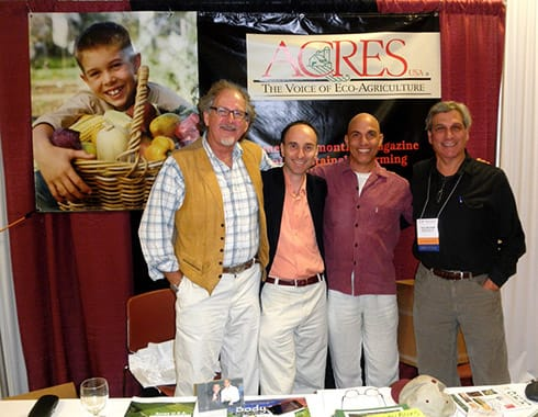 Jerry and friends: Will Winter, Geoffrey Smith and Vincent Mina