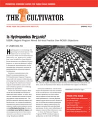 WSpring 2015 Cultivator cover