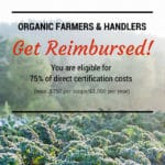Organic Certification Cost Share Program Now Fully Funded!