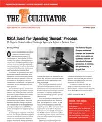 Summer 2015 Cultivator cover
