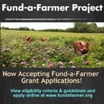 Fund-a-Farmer Grants – Call for Applications!