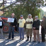 Farmer Protest at NOSB Meeting