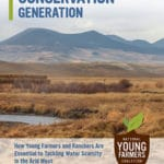 New Report on Western Water: Conservation Generation