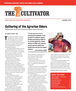 Summer 2016 Cultivator cover
