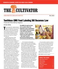 Fall 2016 Cultivator cover