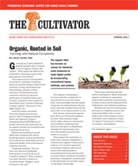 Spring 2017 Cultivator cover