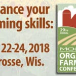 Cornucopia at the MOSES Conference, February 22 – 24 in LaCrosse, WI