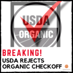 USDA Rejects Organic Checkoff Proposal