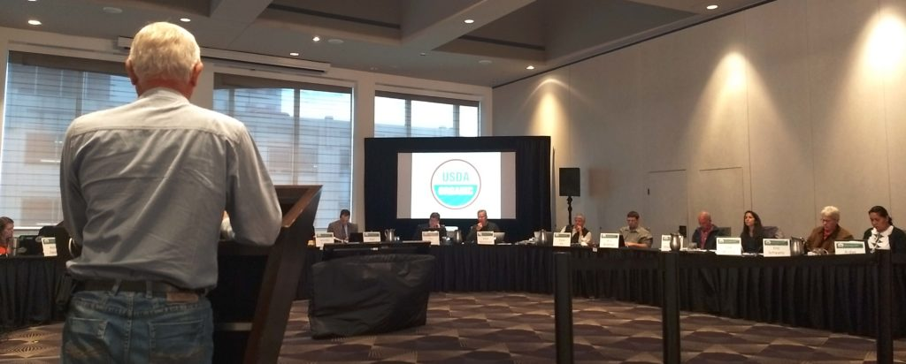 Follow the National Organic Standards Board Meeting in St