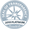 Seal of Transparency, 2018 Platinum, Guide Star