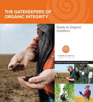 Organic Certifiers Report