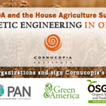Sign On: No GMOs in Organic!