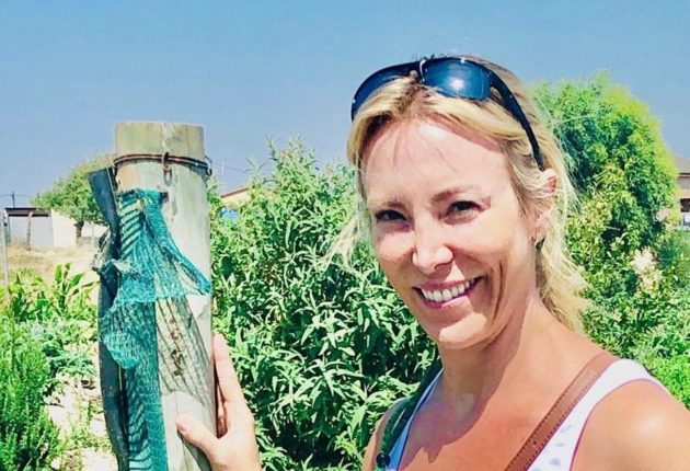 Anne Ross in South Africa