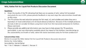 Liquid Fish Products Discussion