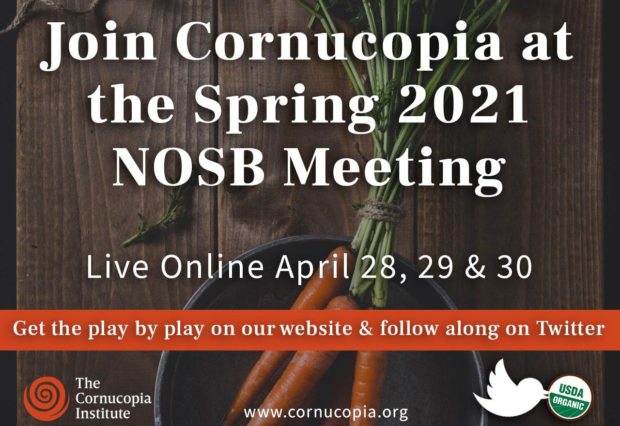 spring 2021 nosb